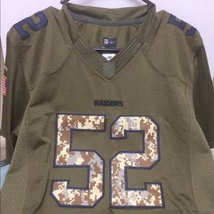 Nike NFL XL on field Raiders jersey boys size XL